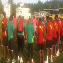 Black Stars complete final training session ahead of Friday's WCQ against Comoros