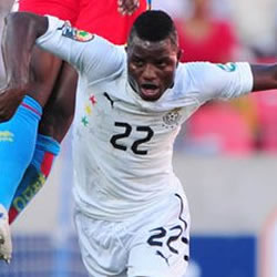 Wakaso gets first start for Black Stars