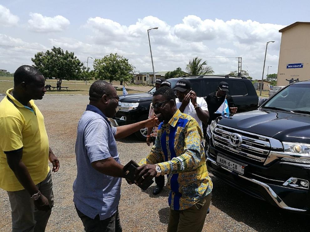 CEO of Zylofon Group Nana Appiah visits GSCE