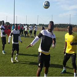 Black Stars resume training in Mongomo