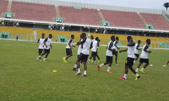 Black Stars begin preparations for Mauritius qualifier