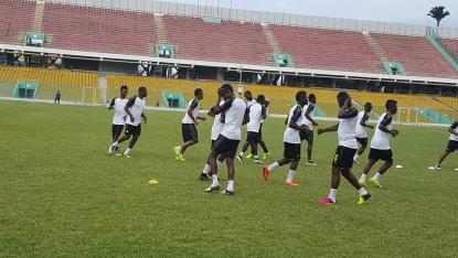 Black Stars begin preparations for Mauritius qualifier