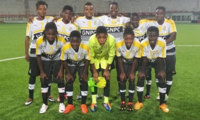 Black Princesses XI for Algeria qualifier