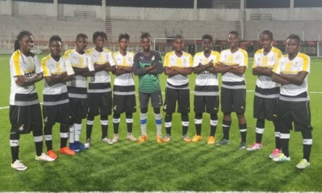 Black Princesses beat Algeria 5-0