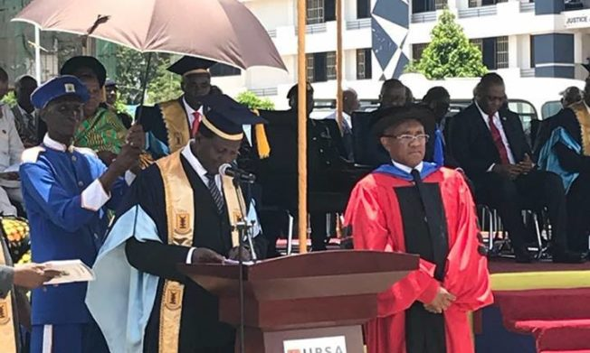 CAF PRESIDENT AHMAD RECEIVES HONORARY DOCTORATE DEGREE