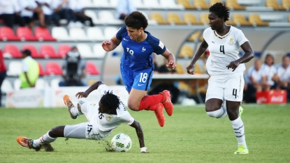 Late-goal denies Black Princesses win against France