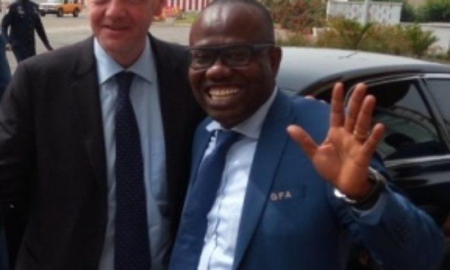 FIFA appoints Nyantakyi onto FIFA Foundation Board