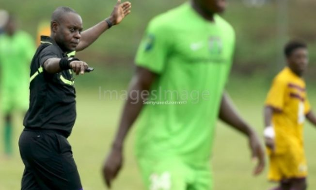 Match Officials for 2017/18 GPL Match day 4