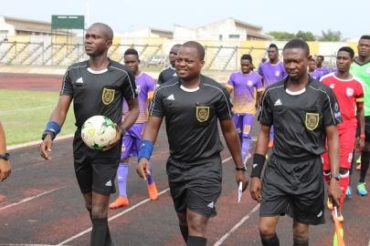 Match Officials for 2017/18 GPL Match day 3