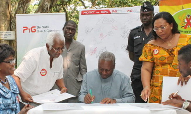 Ghana FA signs up for the UNAIDS 'Protect the Goal' campaign