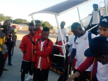Black Stars arrive in Maputo for AFCON qualifier