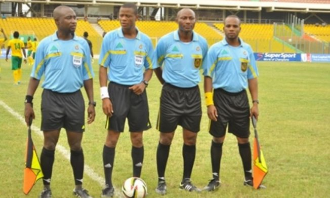 GPL: Match Officials for Premier league Week 23