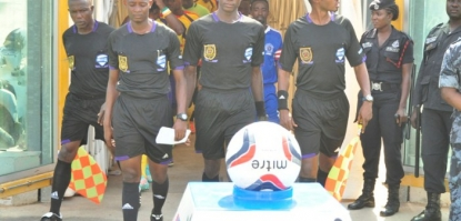 GPL: Match Officials for Premier League Day 29
