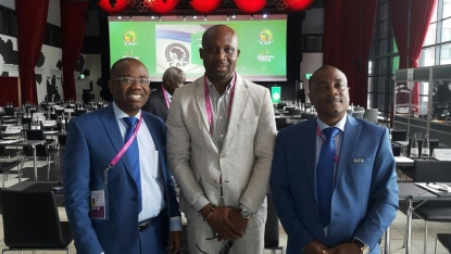 GFA delegation arrives in Cairo for World Cup draw