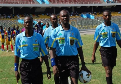 Referees named for promotion play-offs
