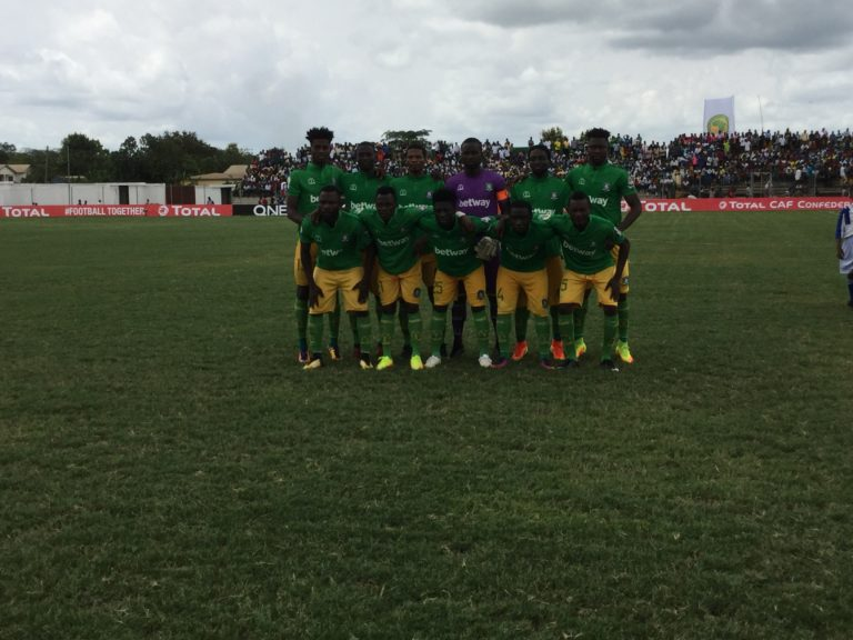 CAF Confederations Cup: Aduana share points with Raja