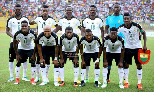 Ghana coach Kwesi Appiah names starting line-up to face Japan