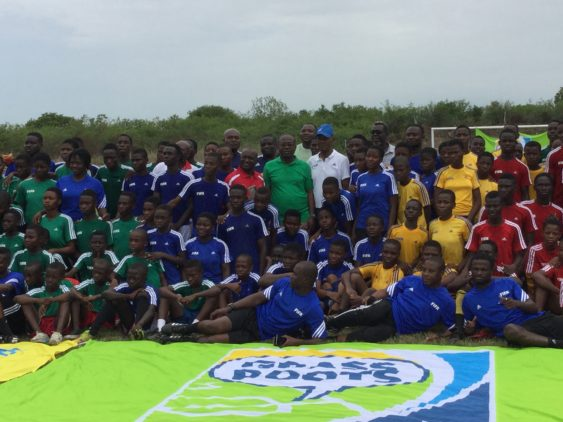 FIFA Grassroots programme ends with football festival for school kids