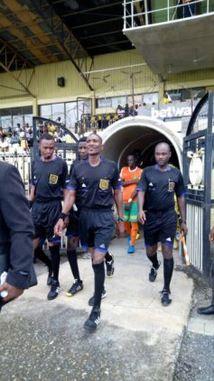 Match Officials for DOL match day 8