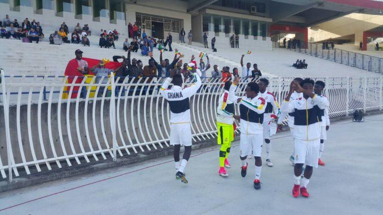 Black Satellites hold Algeria 0-0 in AYC qualifying first leg tie