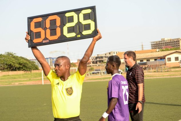 Match Officials for MTN FA Cup Div.2 matches