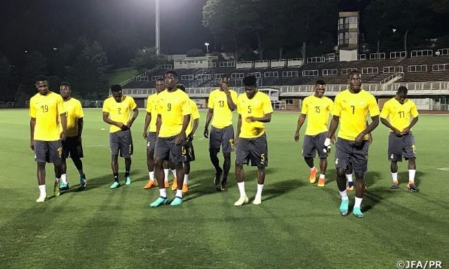 Black Stars gear up for Iceland friendly with final training session today