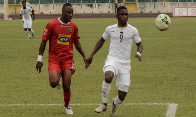 Black Stars beat Asante Kotoko 3-0 in Kumasi