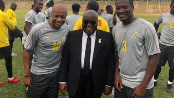 President Akufo-Addo urges Black Stars to repeat Ethiopia thrashing
