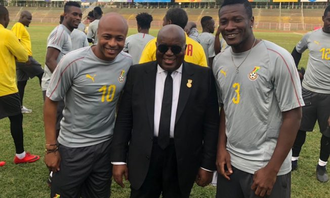 President Akufo-Addo urges Black Stars to repeat Ethiopia thrashing