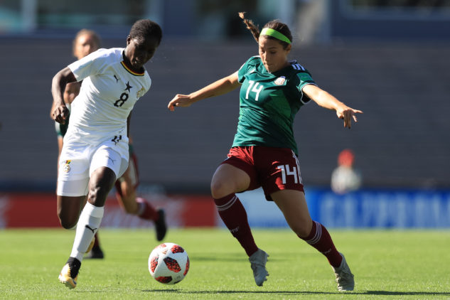 U17WWC: Ghana suffer quarterfinals defeat to Mexico