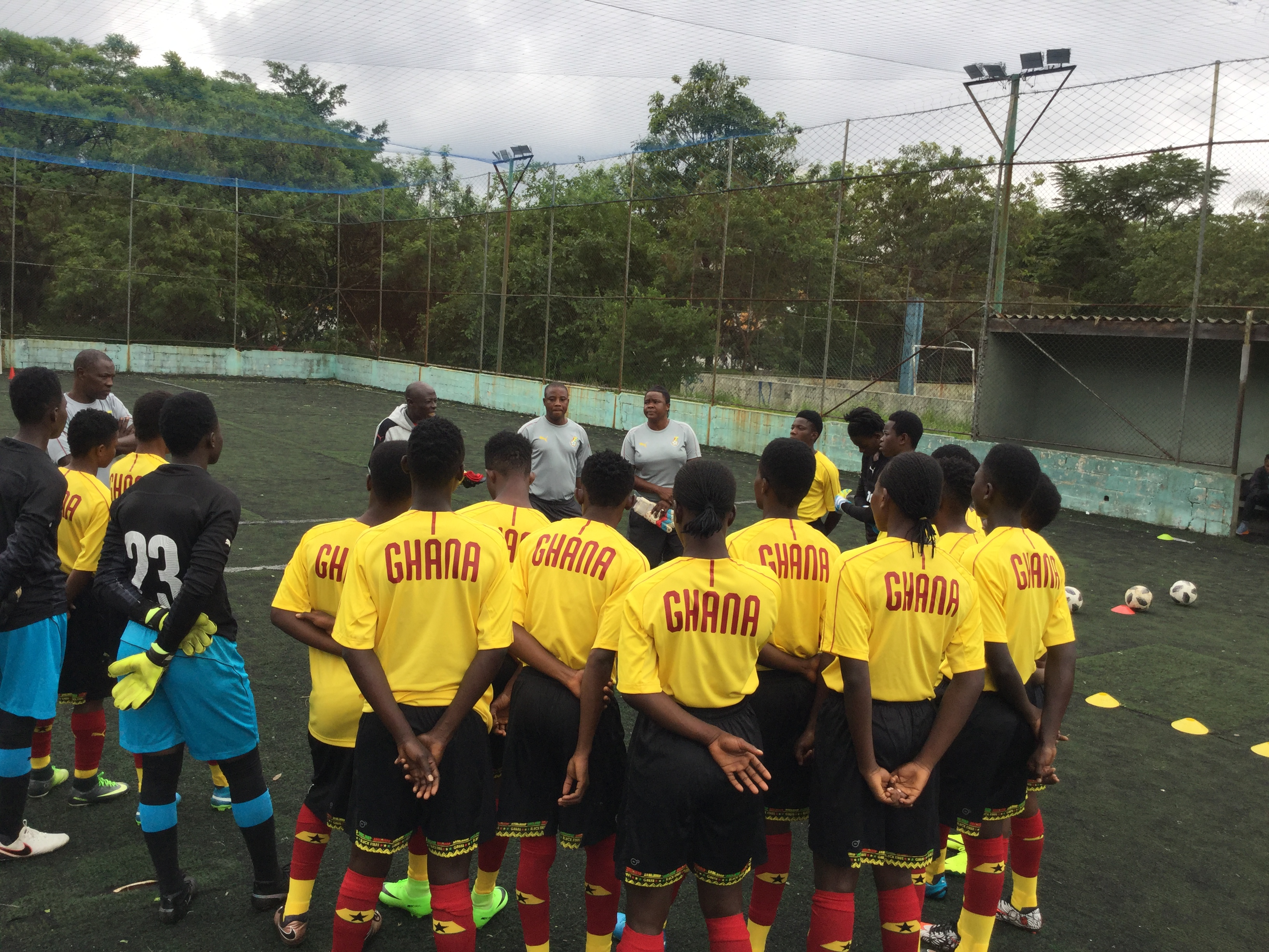 Pictures: Black Maidens training tour in São Paulo, Brazil