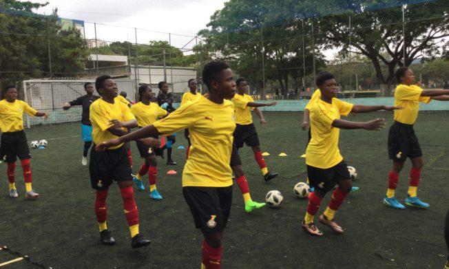 Black Maidens return to training ahead of test game against Cameroon