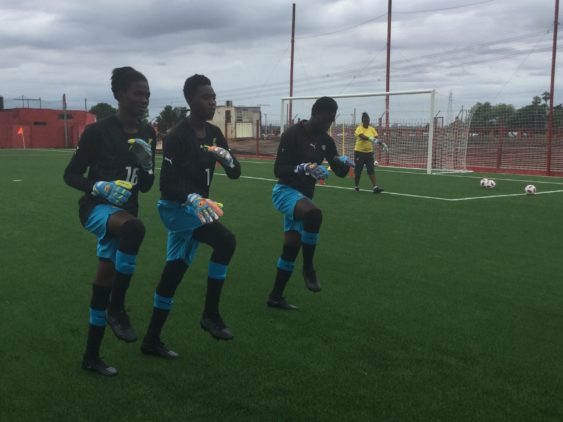 Black Maidens continue preparations for Tuesday's World Cup opener