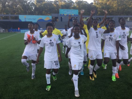 Black Maidens through to U17WWC quarters with 3 wins &10 goals