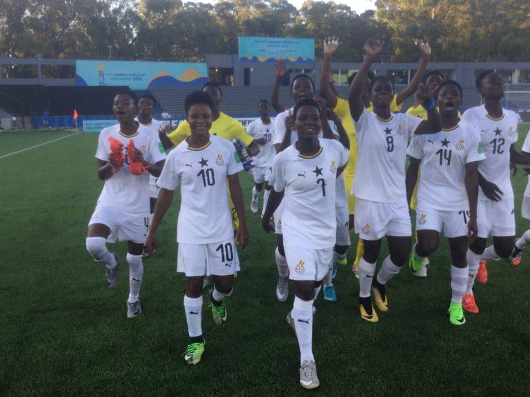 Black Maidens through to U17WWC quarters with 3 wins &10 goals