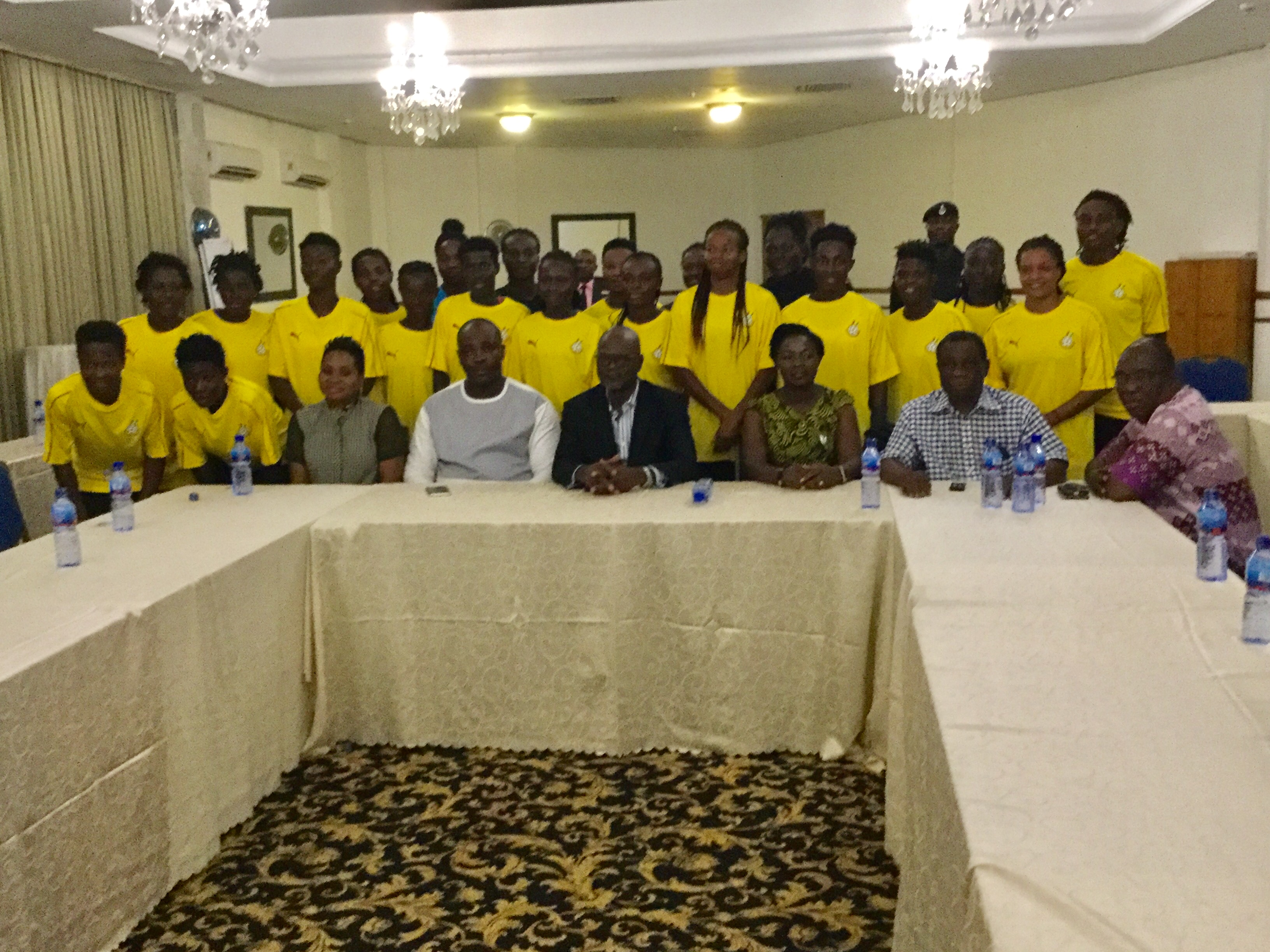 Sports Minister, Normalization Committee urge Black Queens to go all out