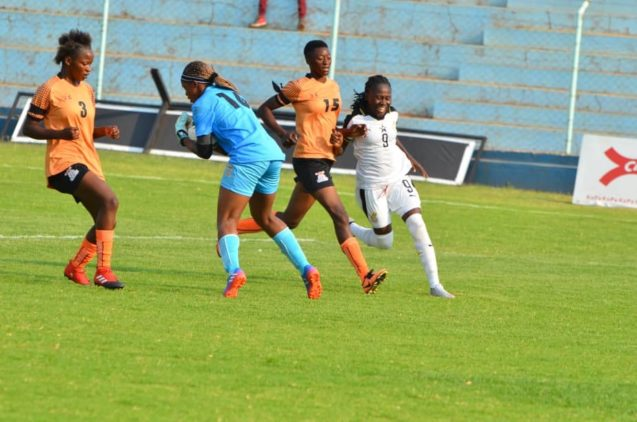 Black Queens lose to Zambia in pre AWCON friendly
