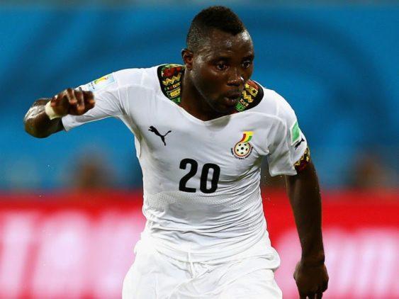 Crocked Kwadwo Asamoah ruled out of Ethiopia game