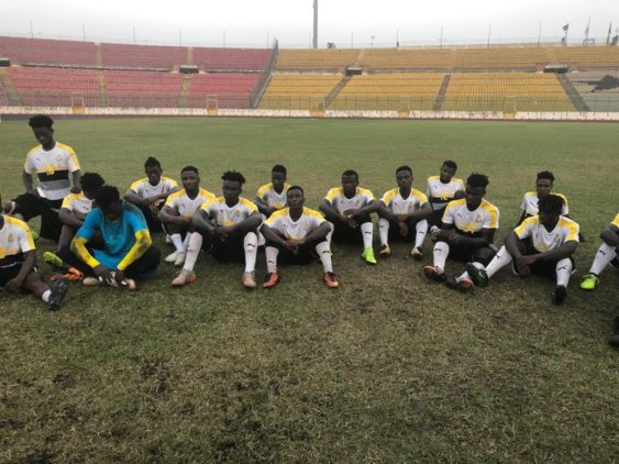 Black Meteors ready-up for today's U23 qualifier against Togo