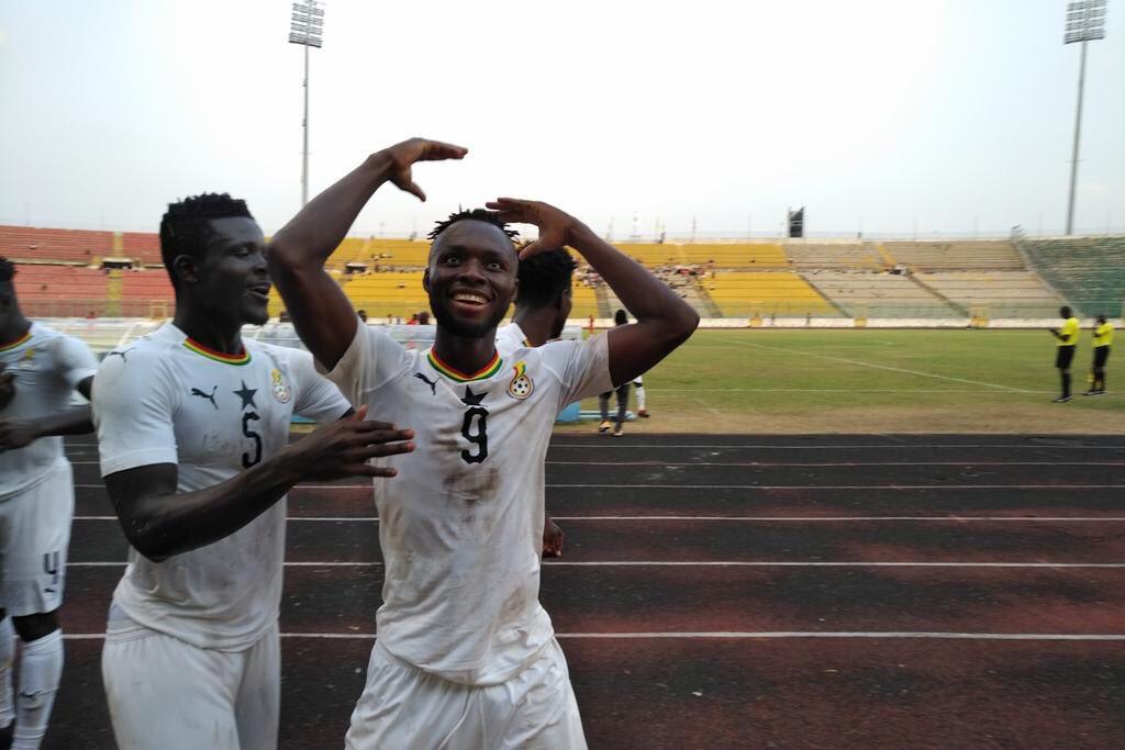 Black Meteors starting line up for African U23 Championship qualifier against Gabon