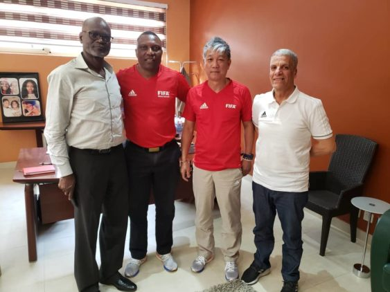 GFA organizes FIFA/CAF Intergrity course for Referees
