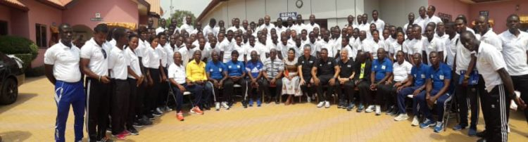 FIFA/CAF Integrity course for 150 Ghanaian referees ends on Saturday