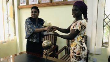 Mukarama receives U-17 World Cup FIFA Golden Boots & Bronze ball