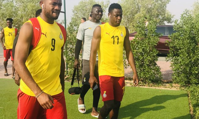 Black Stars return to training routine on Tuesday evening
