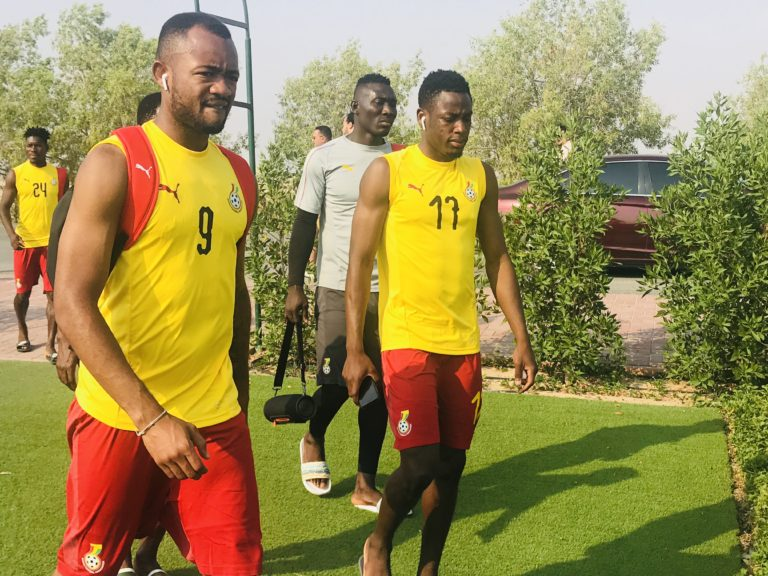 Video: Black Stars back in training after squad announcement