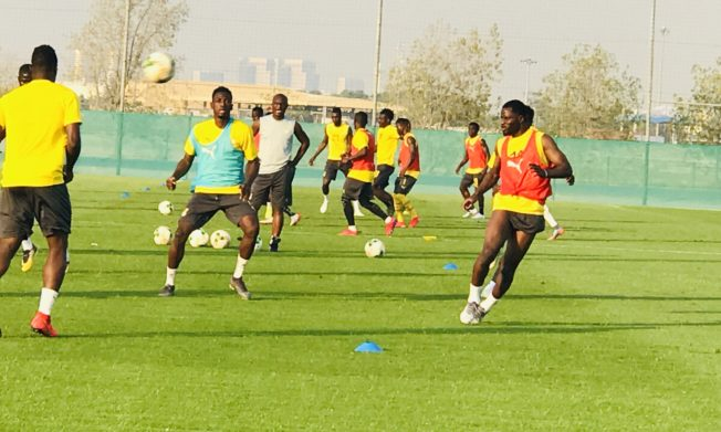 Black Stars XI for pre-AFCON friendly against Namibia