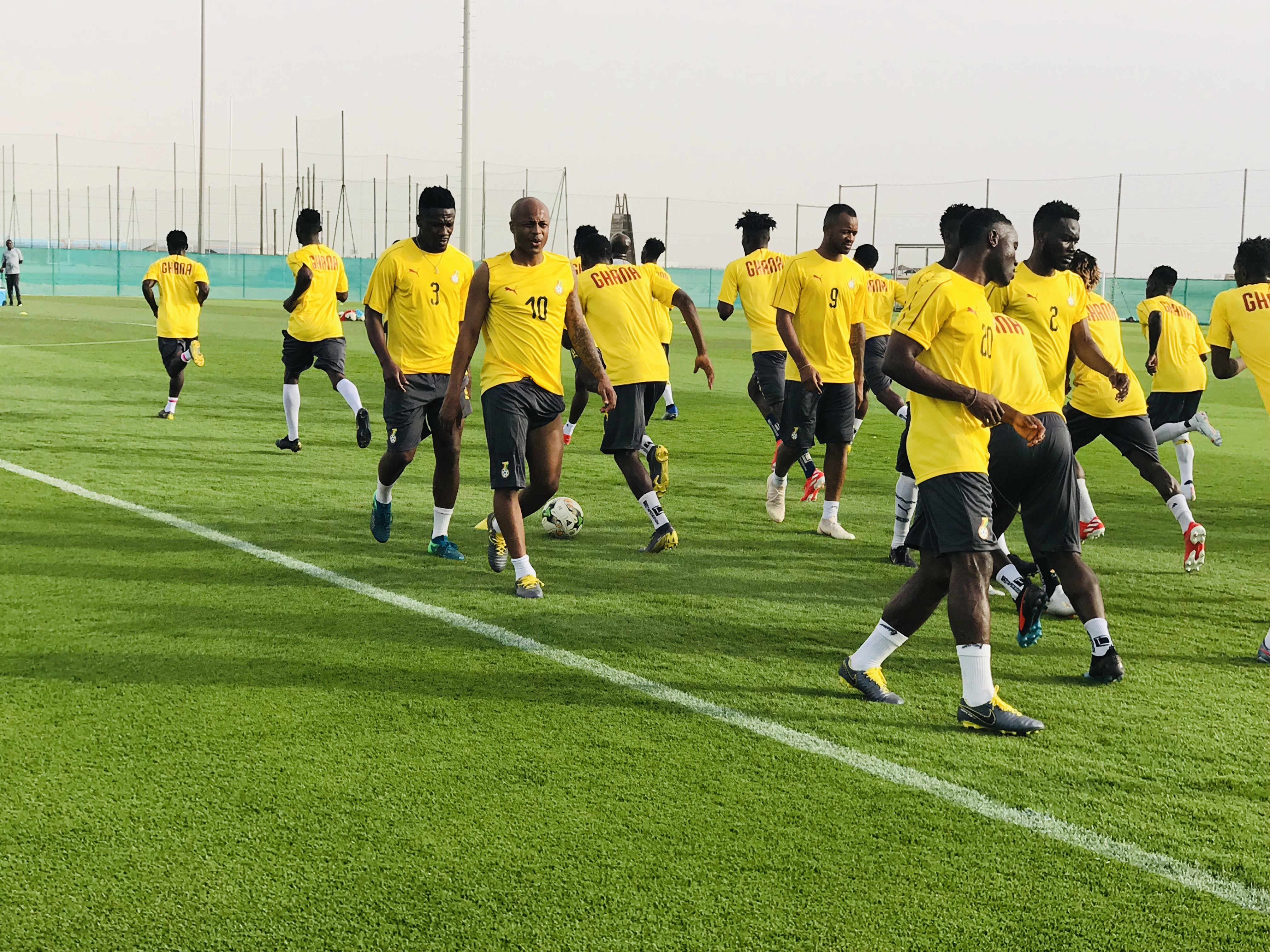 Coach Kwesi Appiah names final squad for AFCON 2019