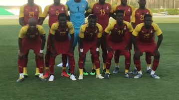 The GFA-NC sends Goodwill message to the Black Stars