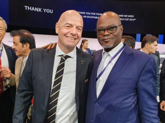 Ghana FA congratulates Infantino on FIFA re-election in Paris