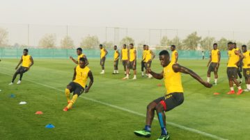 Black Stars XI for Saturday's friendly match against South Africa